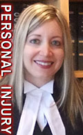 Charlotte Salomon, appointed Q.C. in 2016 - practices personal injury / ICBC claims  in  office downtown Victoria, active in the Canadian Bar Association civil litigation section